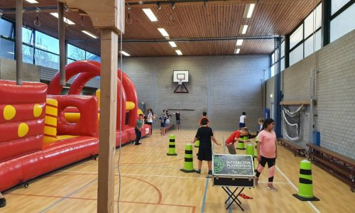 Gym arrangement met stormbaan - Pagina gym op school - 1