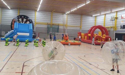 Indoor sportdag met stormbaan - Pagina Sportdag - 1